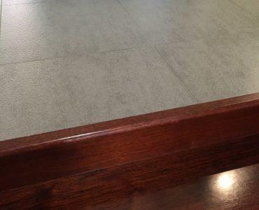 Hardwood or tiles